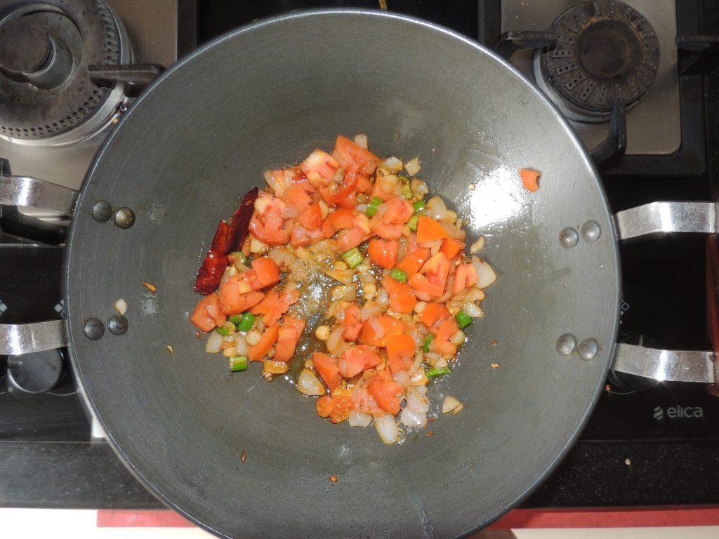 Tomato in kadai