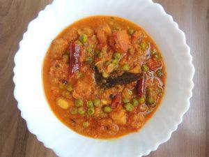 Hotel Vali Matar Panner / Restaurant Style Cheese Peas Curry