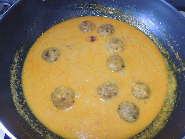 Also put garam masala along with it.
