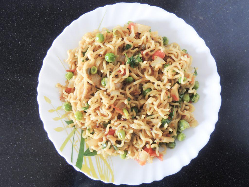 Yummy Vegetable Masala Maggi