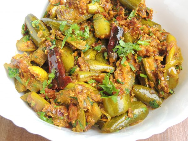 Now recipe is ready. Serve recipe with poori, paratha, chapati or nan.