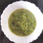 Tamatar Dhaniya Chutney / Tomato Coriander Chutney