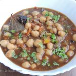 Chhola Curry / White Chana Curry