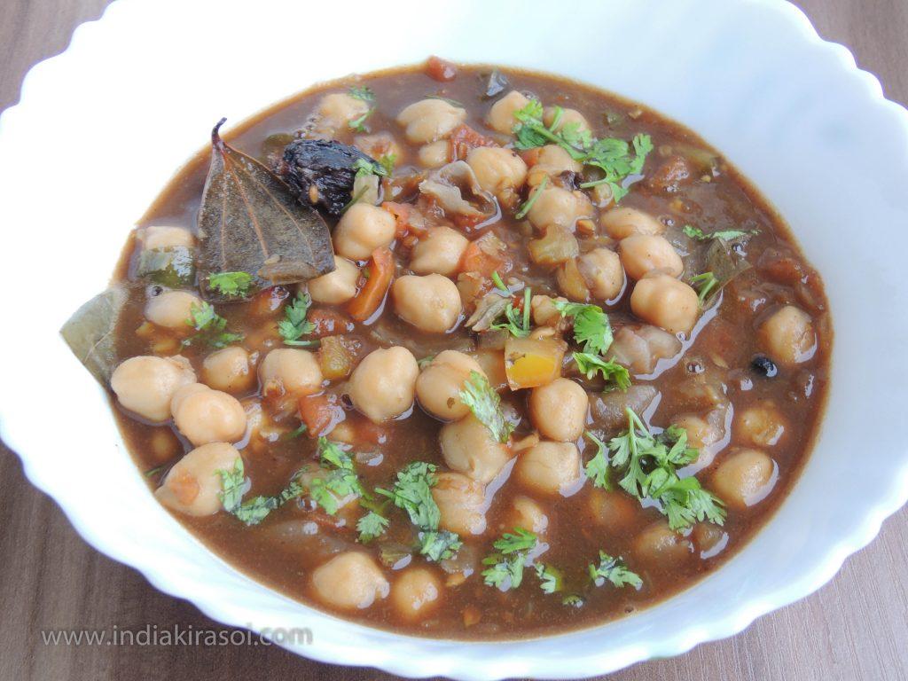 Chhola Curry / White Chana Curry