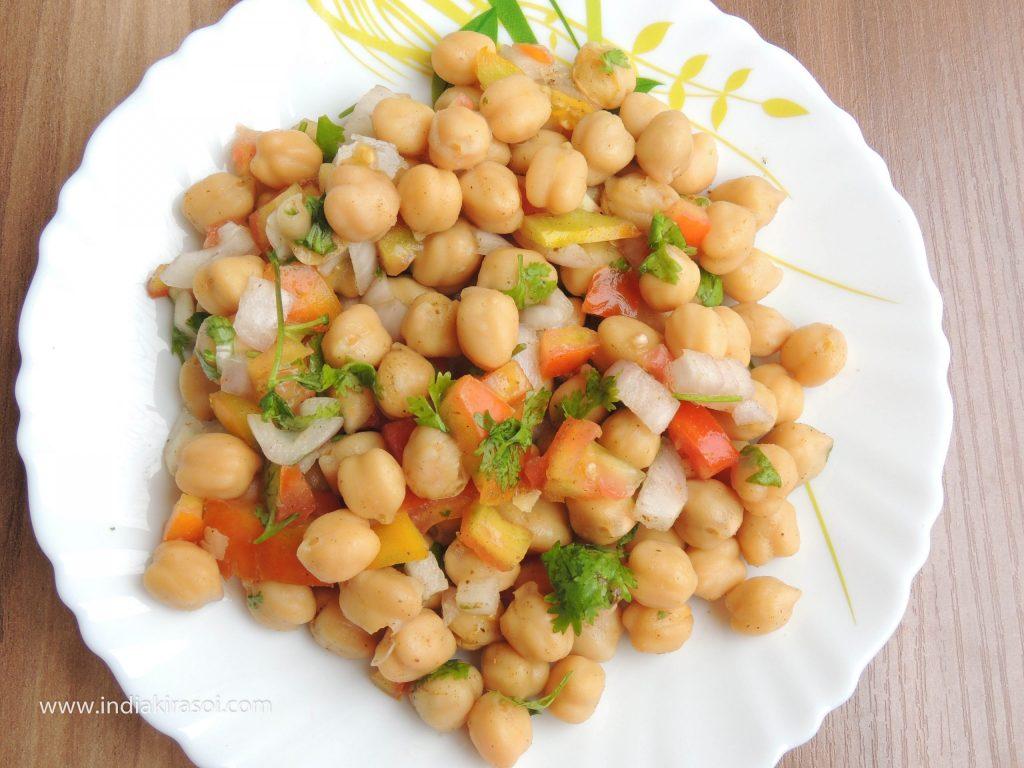Chickpea Protein Salad / छोला प्रोटीन सलाद