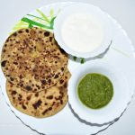 Cauliflower Stuffed Flatbread/ Gobhi Paratha / गोभी पराठा