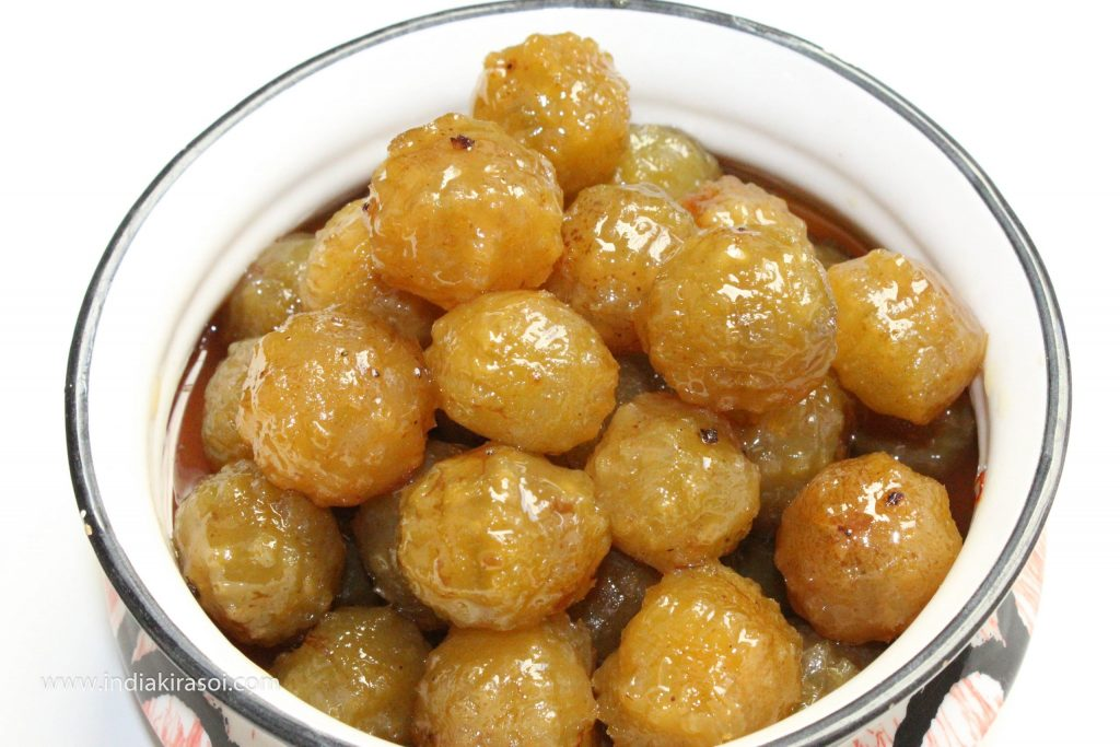 These Amla/Gooseberry murabba will last for one year.