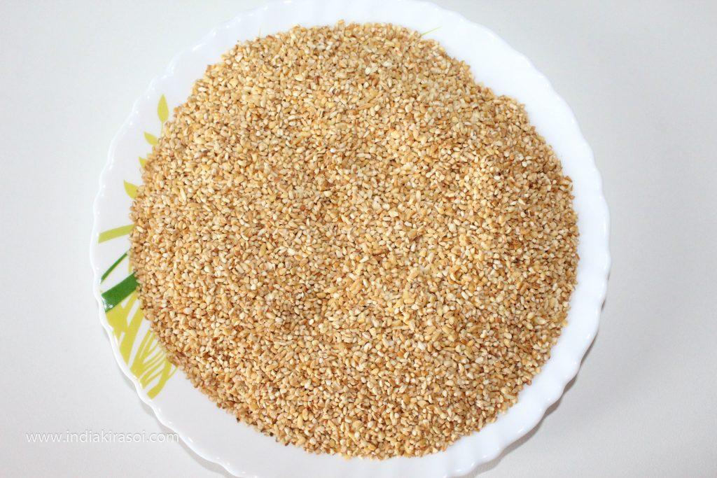 Bina Tel Ke Daliya Kaise Fry Karen / How To Fry Broken Wheat Without Oil