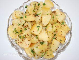 Aloo Jeera / Potato Cumin Dry