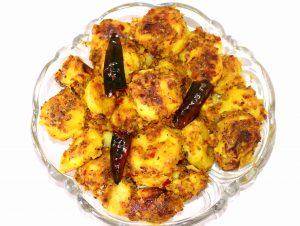 Dry Arbi/ Ghuiyan / Colocasia(Taro) Masala Curry