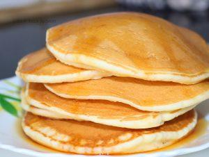 How to make Egg Pancakes | Fluffy Egg Pancake Recipe | Basic Pancake Recipe | Zero Oil Breakfast